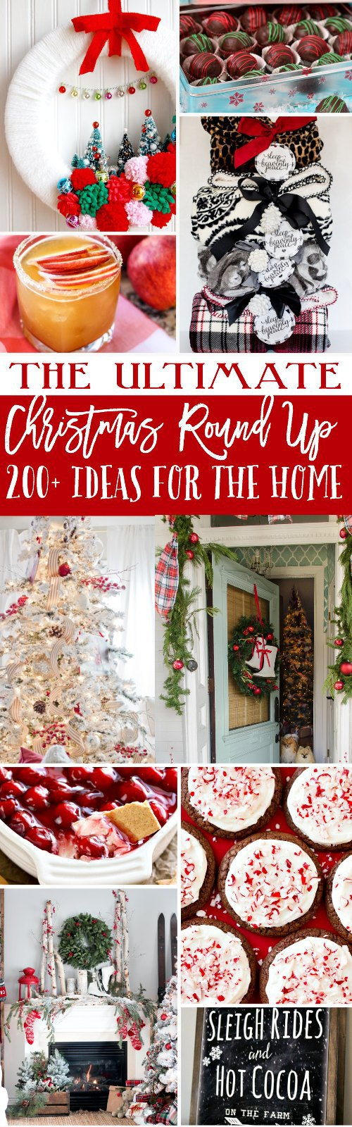 The Ultimate Christmas Round Up with 200+ Ideas for the Home, Gifts and Things to Bake!