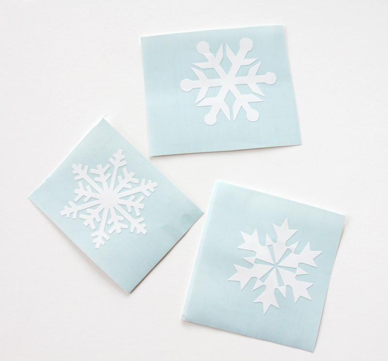 vinyl-snowflakes