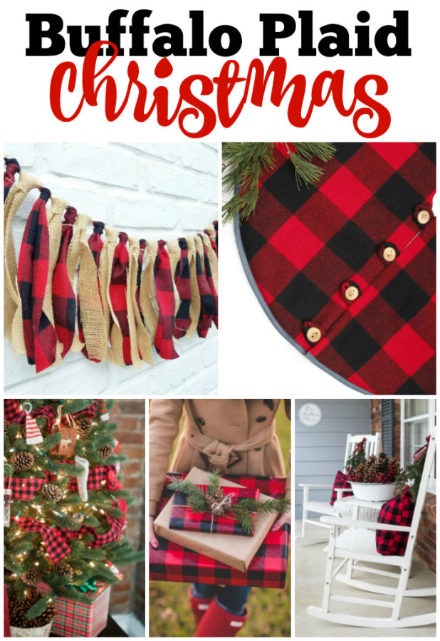Best Christmas Decorating Trends featured by top US craft blog, Flamingo Toes: buffalo plaid Christmas