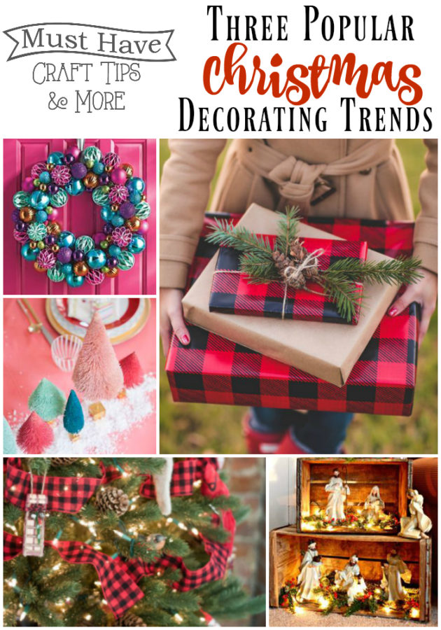 Best Christmas Decorating Trends featured by top US craft blog, Flamingo Toes