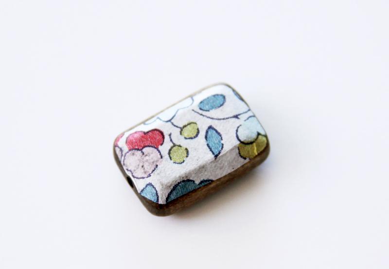 napkin-mod-podged-on-bead