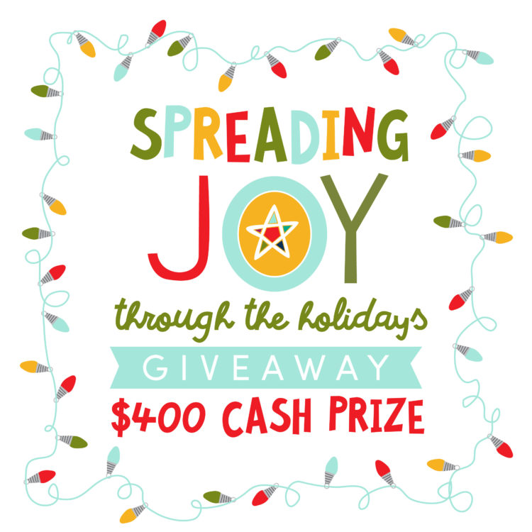 Spreading Joy - Christmas Cash Giveaway