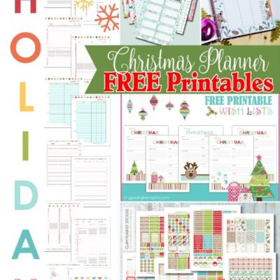 Must Have Craft Tips – Christmas Planner Organization