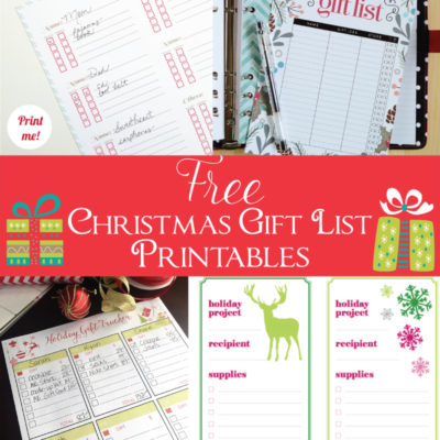 Must Have Craft Tips – Gift Tracker Organization