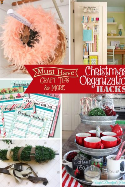 Must Have Craft Tips – Christmas Organization