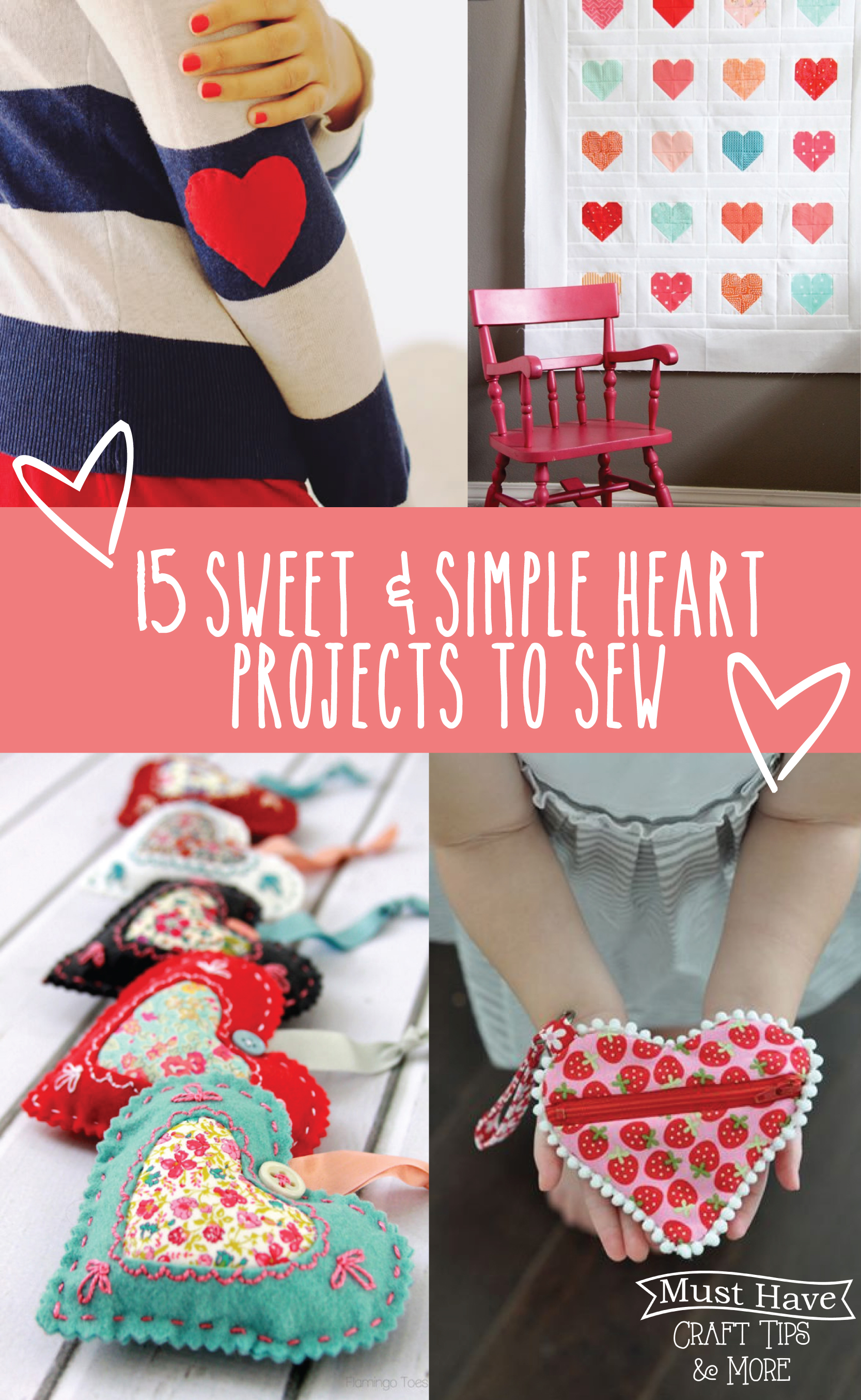 Sewing With Hearts