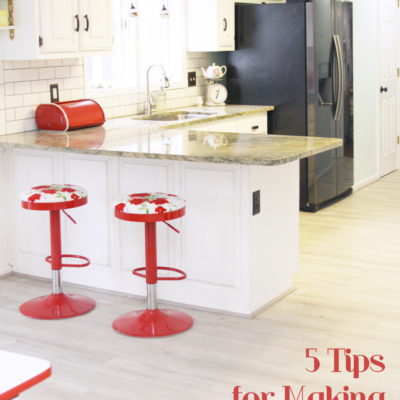 Tips for Making a Kitchen feel Larger