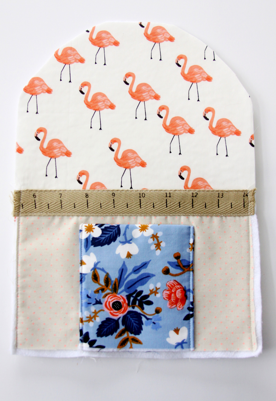 Floral Flamingo Sewing Machine Cover