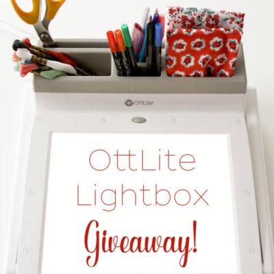 OttLite Lightbox Giveaway