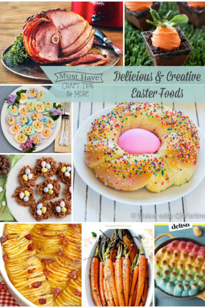Must Have Craft Tips – Easter Dinner Ideas