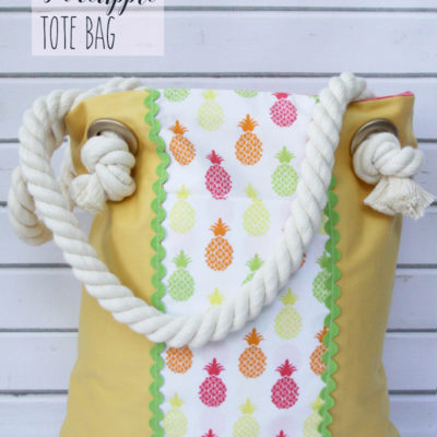 Simple Summer Tote Bag