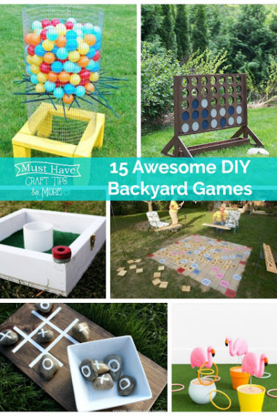 Fun and Easy DIY Backyard Games