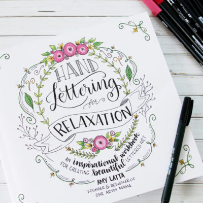 Hand Lettering for Relaxation Workbook
