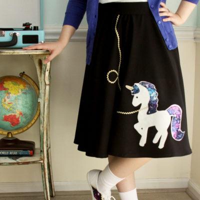 Cute Fifties Unicorn Costume