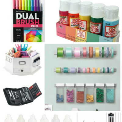 Must Have Craft Tools and Supplies