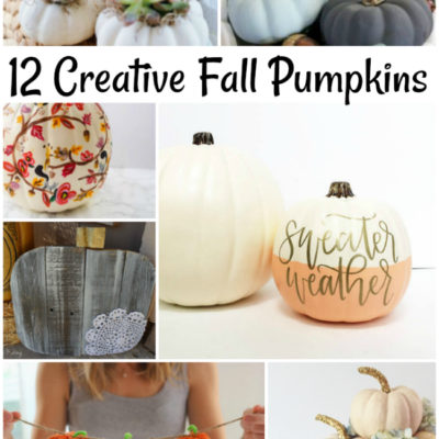 12 Creative Fall Pumpkins