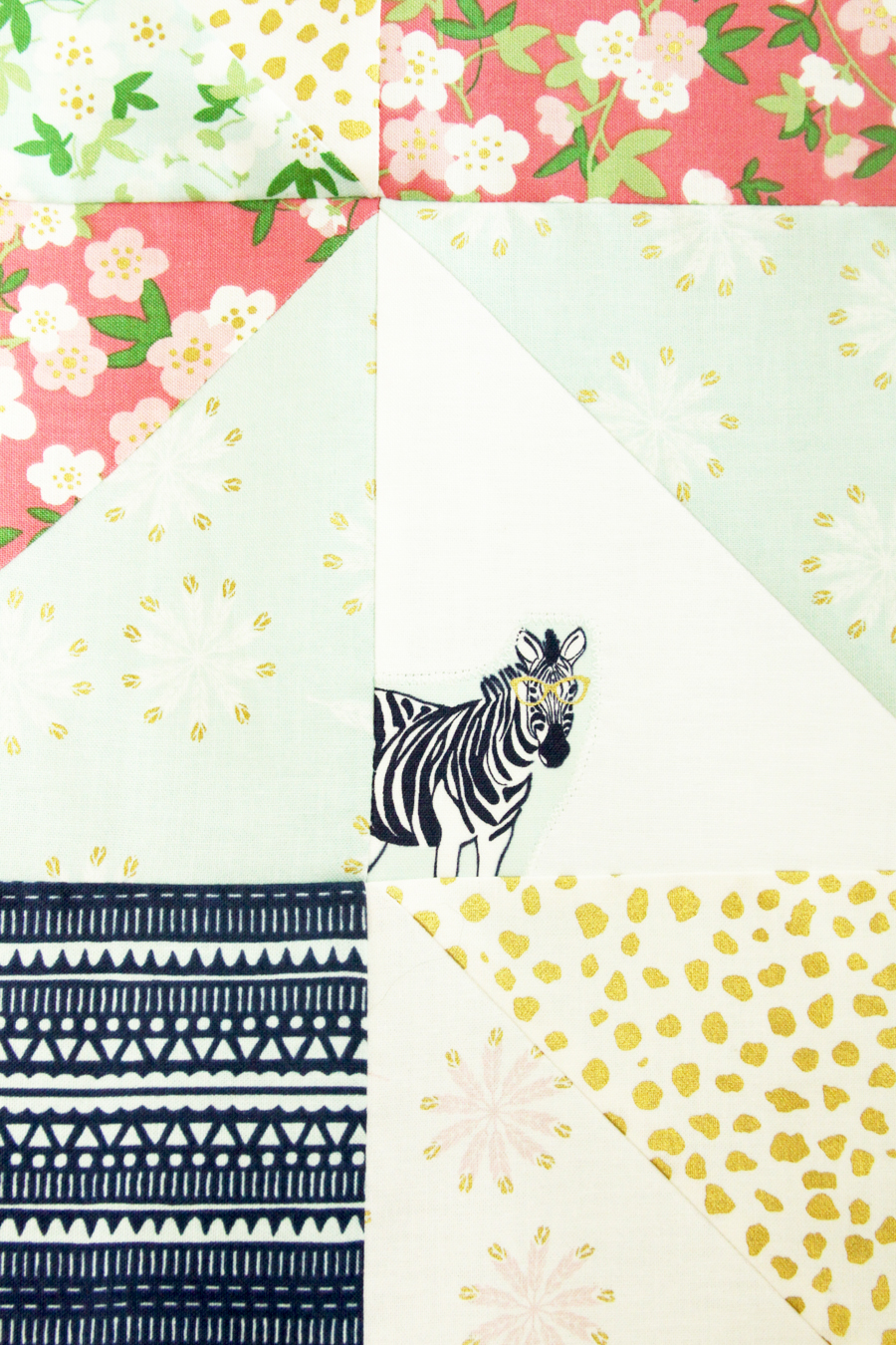Hidden Safari Party Lap Quilt