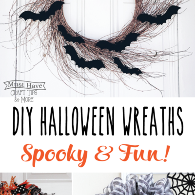 Spooky and Fun Halloween Wreaths