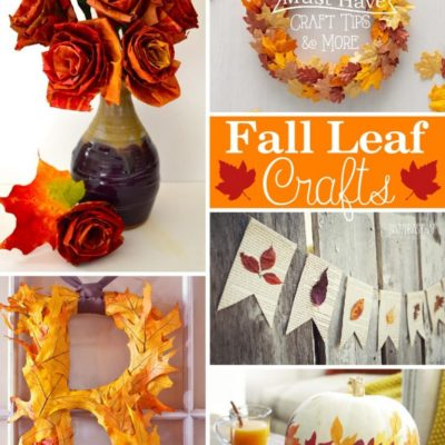 Inexpensive Fall Leaf Crafts