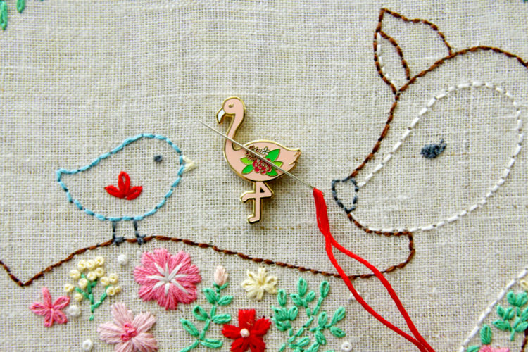 Flamingo Toes Sewing Jewelry Embroidery DIY and More