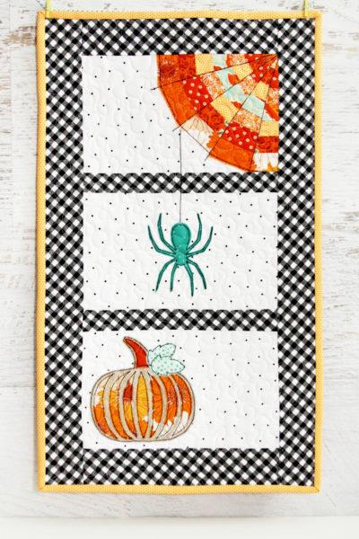 Spinning Spiderwebs Mini Quilt