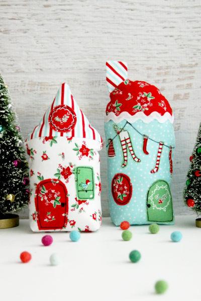 Christmas Town Fabric Village
