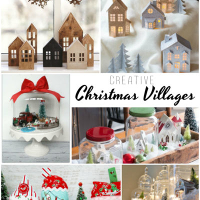 Creative Christmas Villages