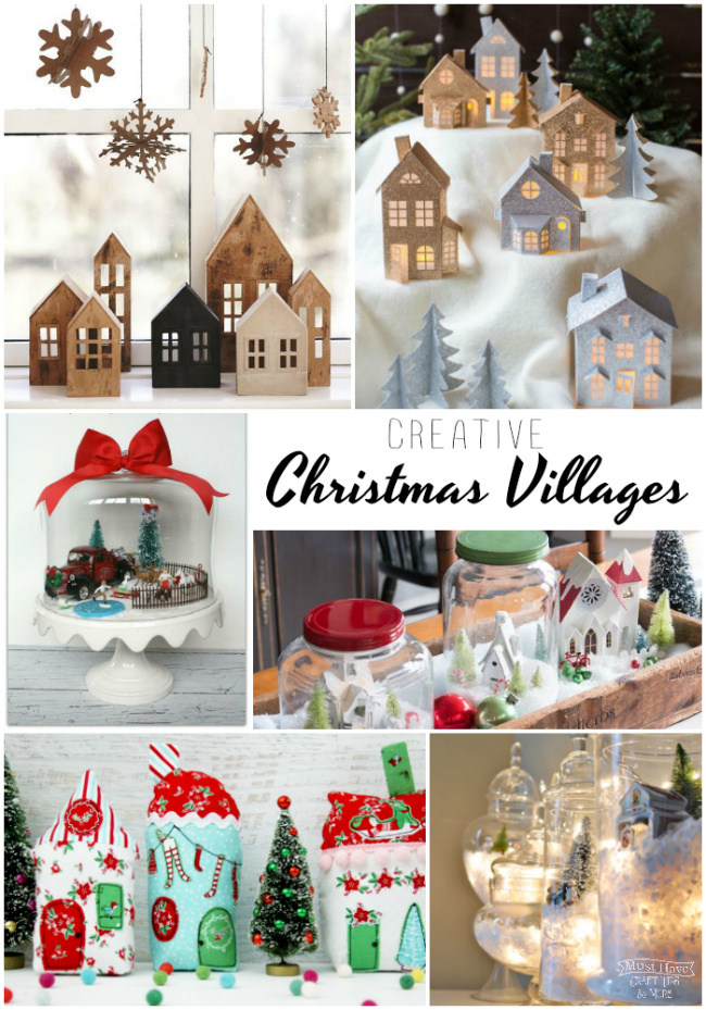 Dollar Tree Christmas Village 2021 Creative Christmas Villages
