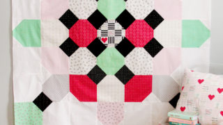 Free Soda Fountain Quilt Pattern with Shine Bright Fabrics