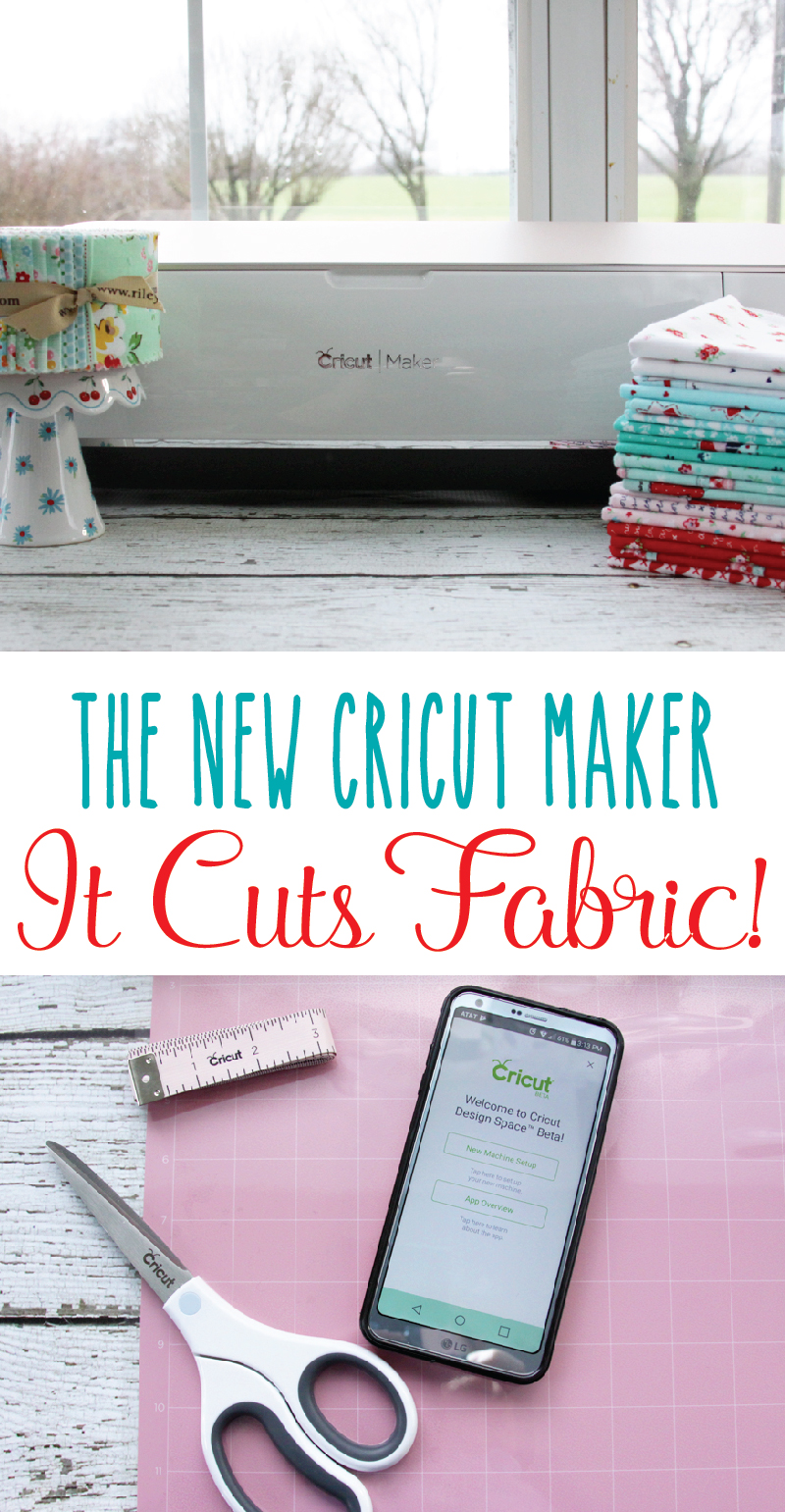 Reviewing the new Cricut Maker - it cuts fabric and so much more!