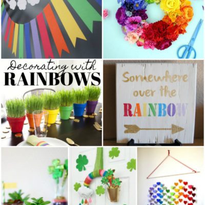 Creative and Cute Rainbow Projects