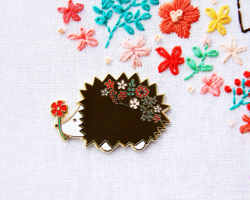 Cute Hedgehog Needle Minder