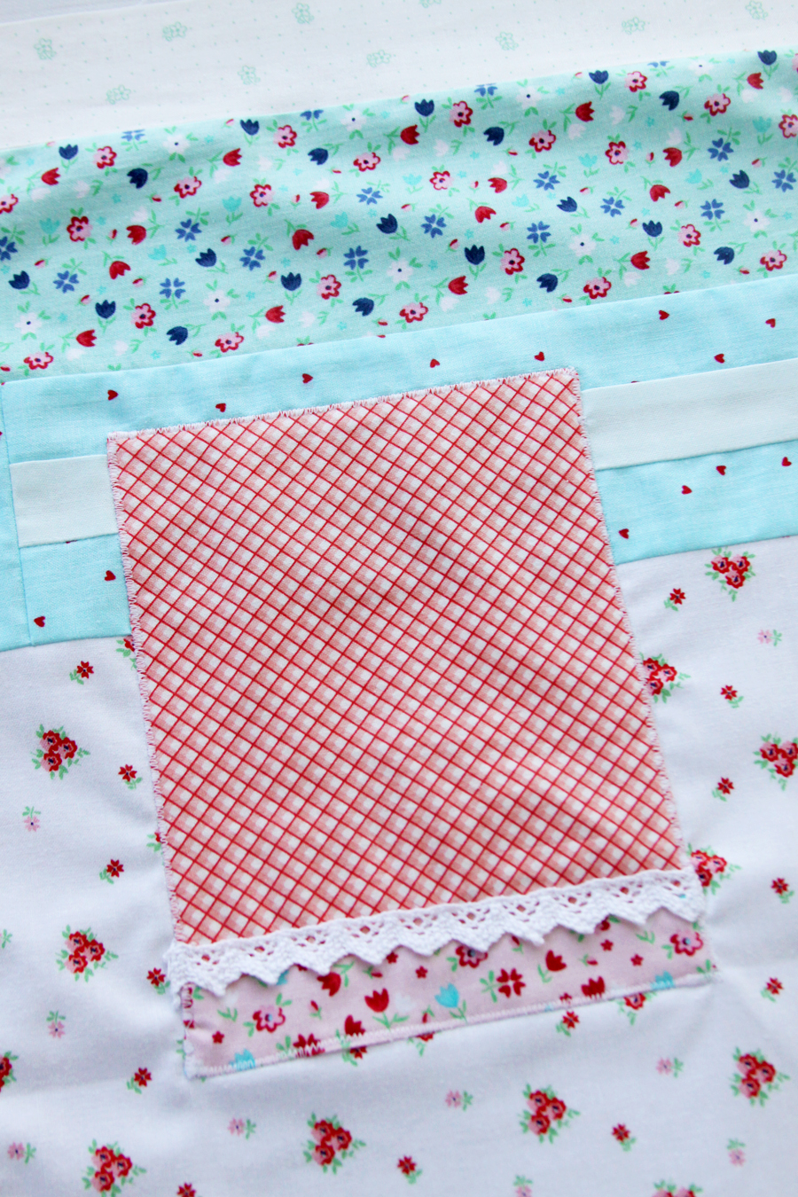 Let's Bake Sew Along Mini Quilt and Hoop