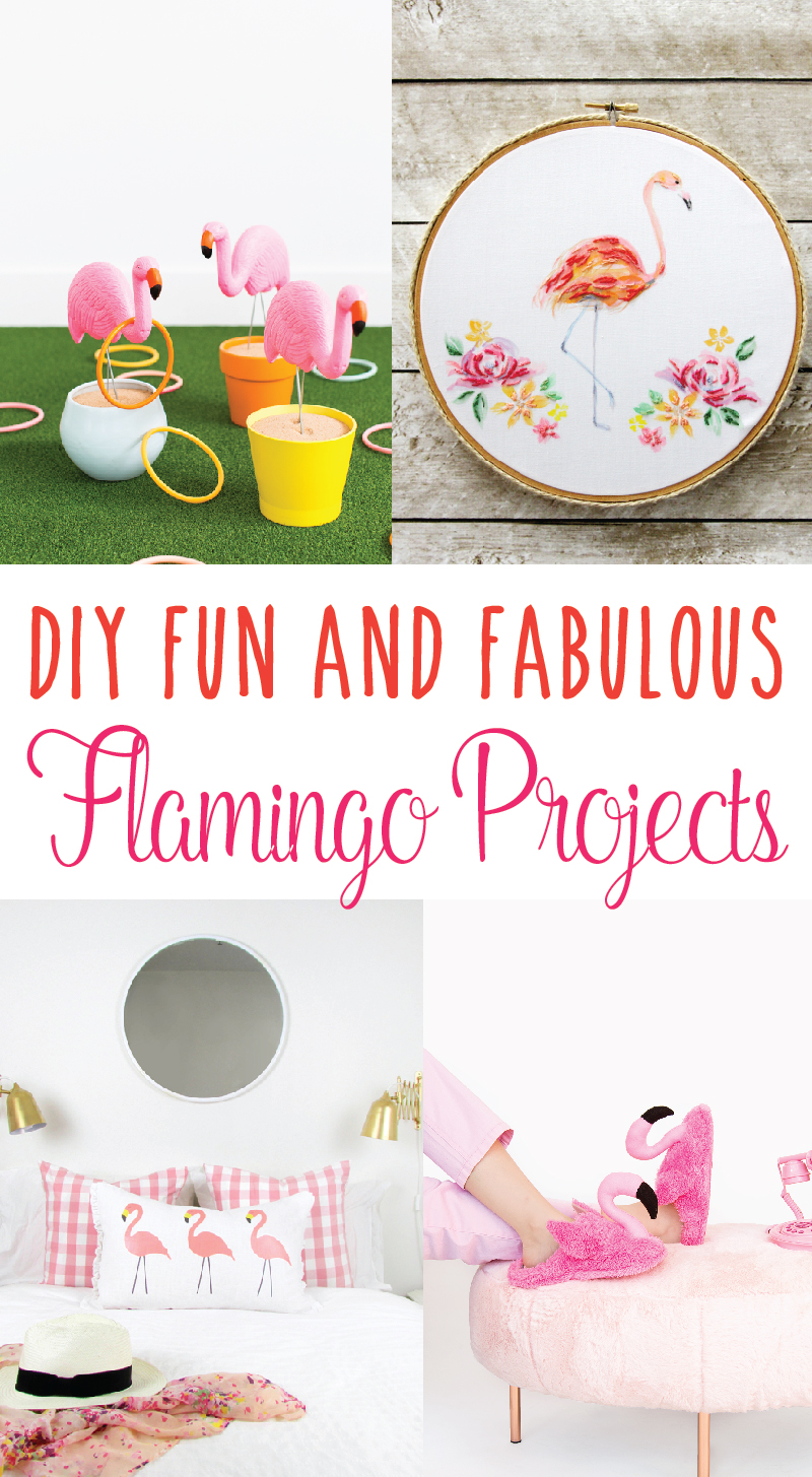 DIY Fun and Fabulous Flamingo Project Ideas