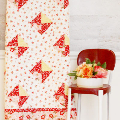 Spring Diamonds Free Quilt Pattern