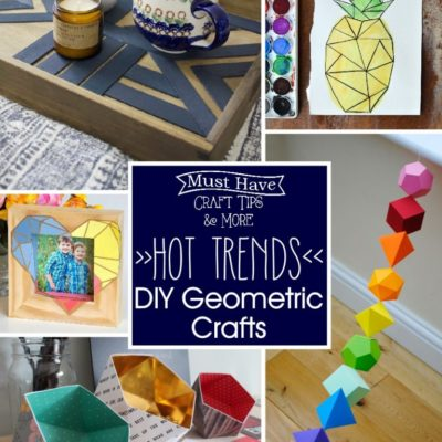 DIY Geometric Crafts – So fun and Creative!