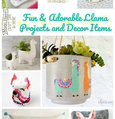Cute and Colorful Llama Ideas and Projects