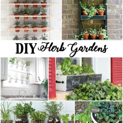Creative DIY Herb Gardens for Any Space