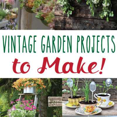 Vintage Garden DIY Projects