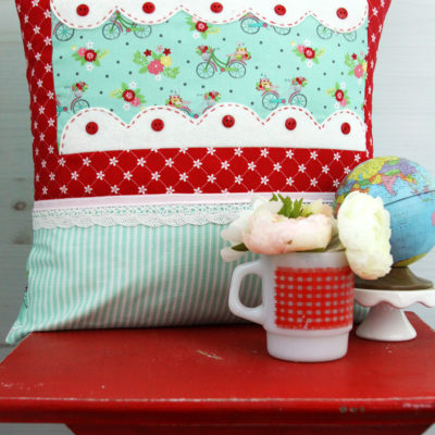 Scalloped Window Pillow