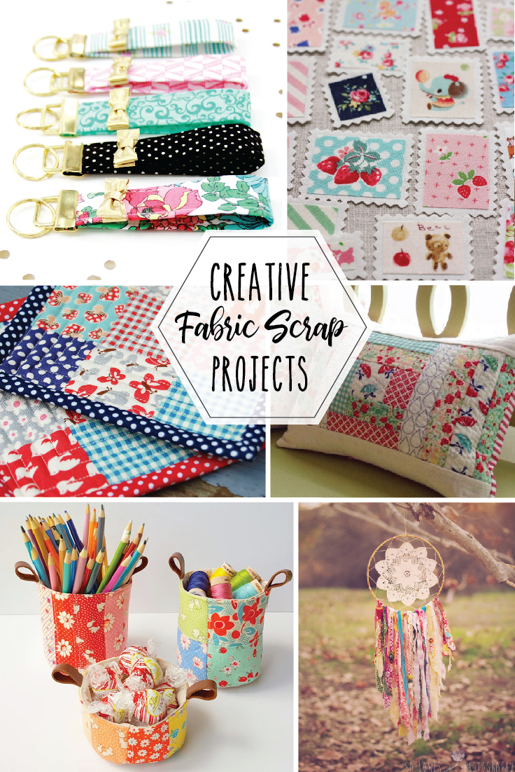 Cute And Creative Fabric Stash Busting Projects