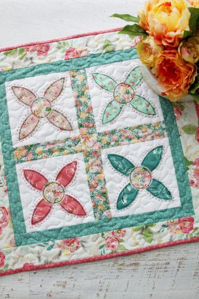 Helpful Block Mini Quilt