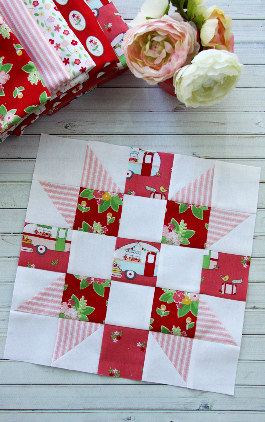 Meet The Maker Quilt Along Block 1