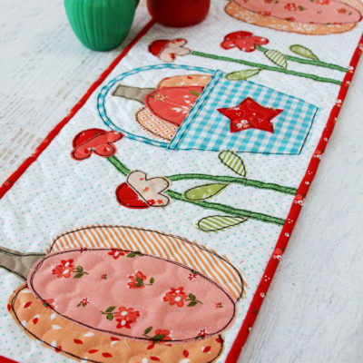 Autumn Love Pumpkin Table Runner