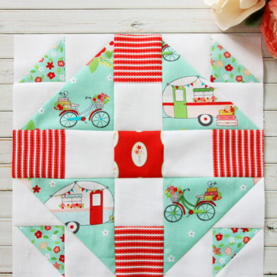 Meet the Maker's Quilt Along Block 2