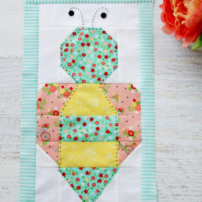Save the Bees Quilt Block 4