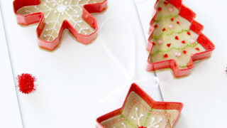 Cookie Cutter and Mesh Ornaments