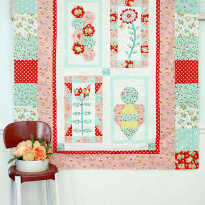 Save the Bees Quilt Top Finish