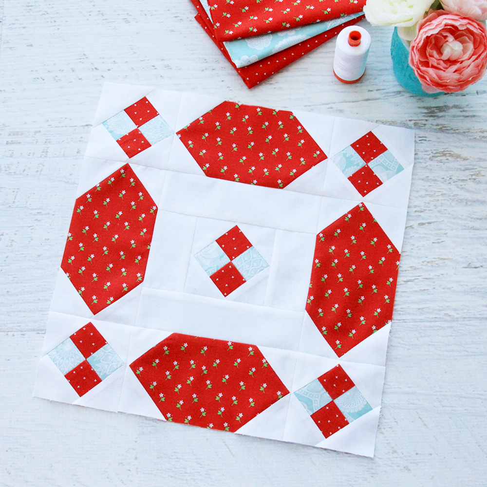 Aurifil Designer of the Month Quilt Block