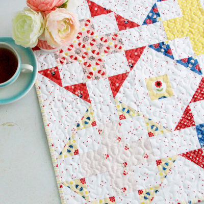 Gretel Fabric Blog Hop Mini Quilt